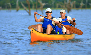 Canoeing in Mahaweli River from Kandy