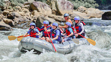 Rafting from Kandy