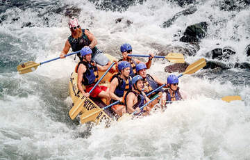 Rafting from Mount Lavinia