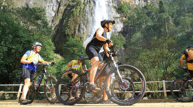 Cycling from Bentota