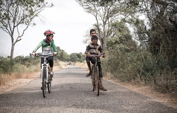 Cycling from Mount Lavinia