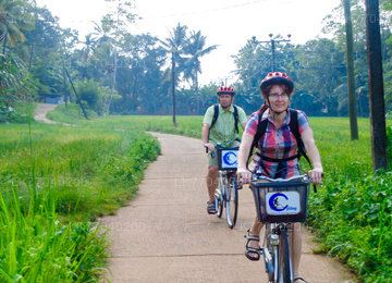 Countryside by Bicycle from Galle
